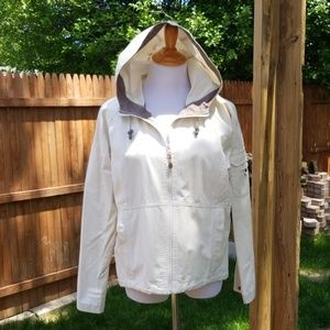 Cabell casual hooded canvas jacket